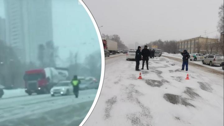 Mercedes-Benz насмерть сбил 75-летнюю женщину на Немировича-Данченко