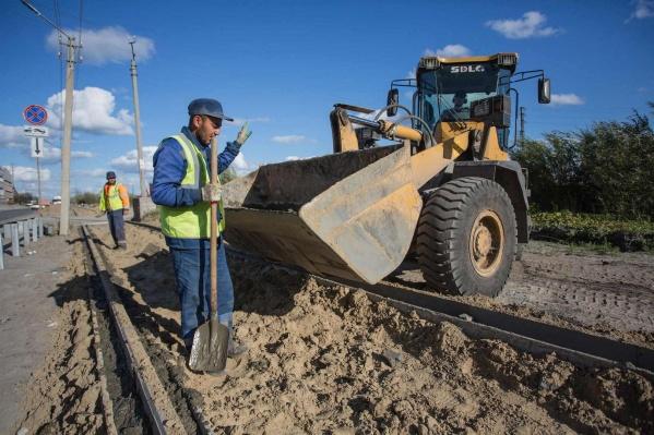 Ремонт дорог в Сургуте подходит к концу