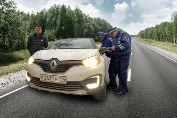 Андрей Пирятинский с женой провели девять часов ночью на трассе в Тамбовской области
