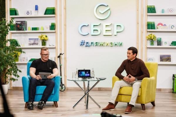 Евгений Титов беседовал с блогером Сергеем Южаниным