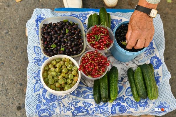 Чаще всего ягодами торгуют пенсионеры