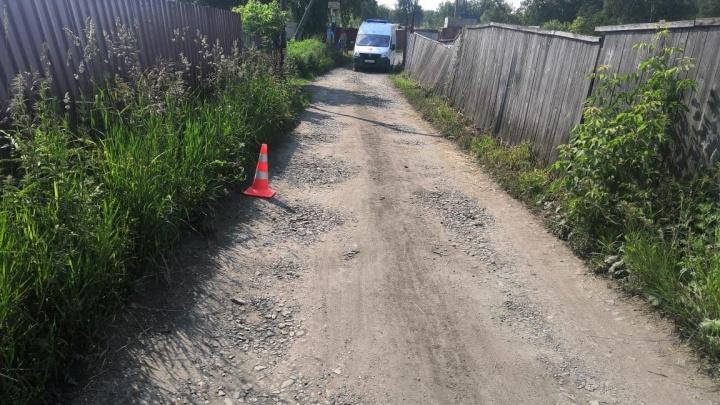 В Новосибирске разыскивается водитель, который наехал на десятилетнего мальчика