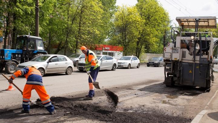 Отремонтированную улицу в Ярославле сделают односторонней