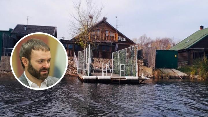 Депутату Госдумы Евгению Серперу удалось спасти от сноса дачу на берегу Волги