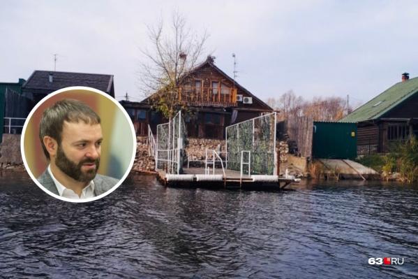 «Дом рыбака» находится в непосредственной близости к реке