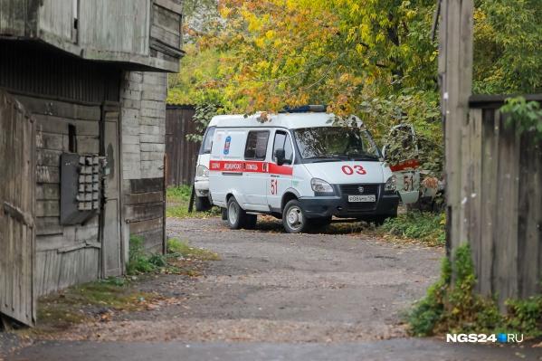 Одну девочку успели спасти, она в поселковой больнице
