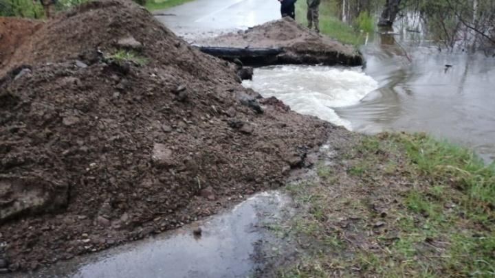 Вода отступает: паводок пришел в Ужурский район, в остальных жители возвращаются в дома