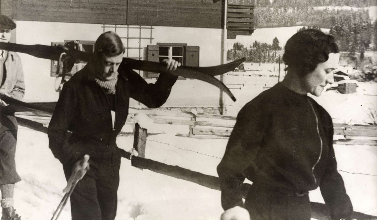 Уоллис Симпсон и Эдуард. Февраль 1935 года