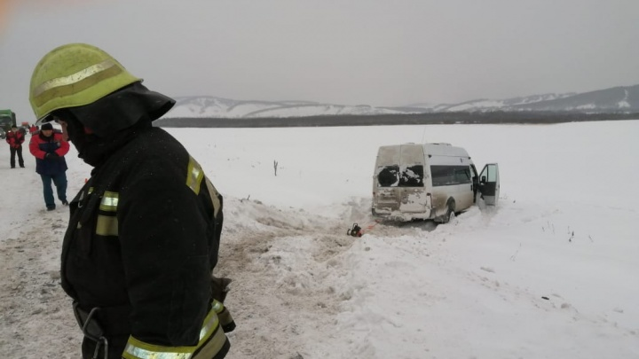 Полиция Башкирии возбудила еще одно уголовное дело по факту столкновения двух автобусов на трассе