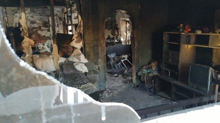 Омским многодетным семьям пообещали бесплатную пожарную сигнализацию
