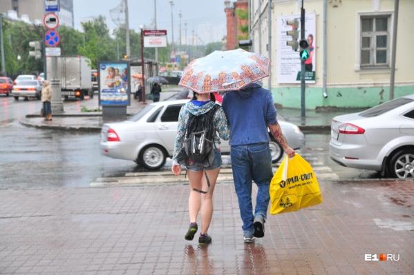 Несмотря на осадки, в городе сохранится теплая погода