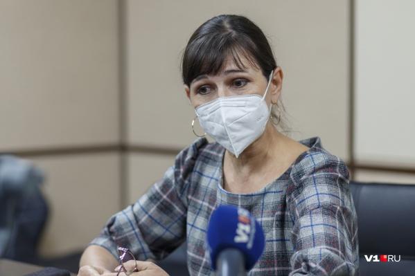 Ольга Чернявская уверена — остановить распространение вируса поможет только вакцинация