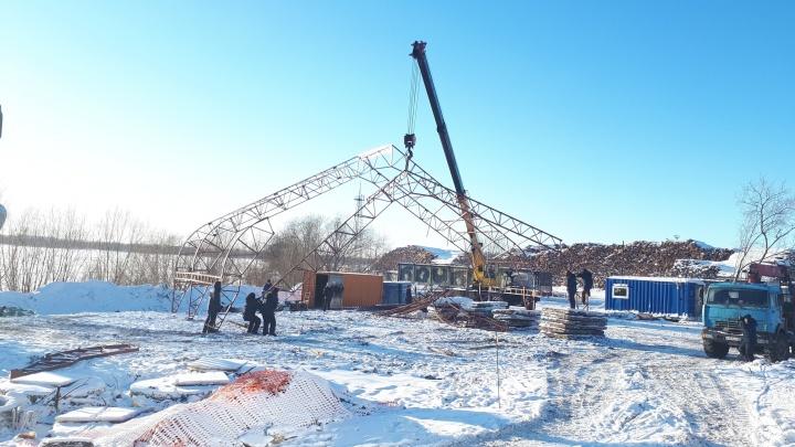 В администрации Архангельска рассказали, что строят у 95-й школы