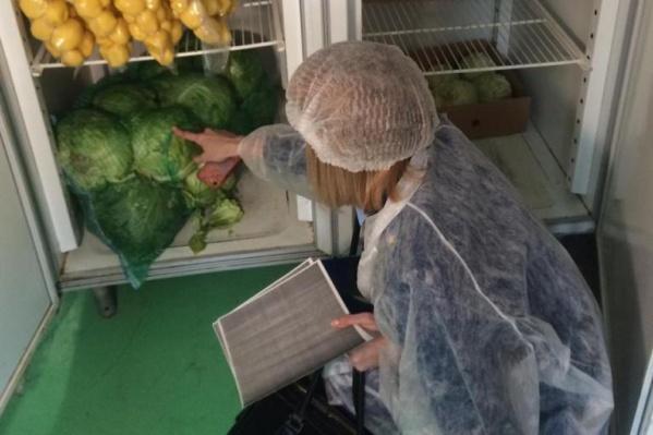 Специалисты проверили условия хранения продуктов в школьных столовых