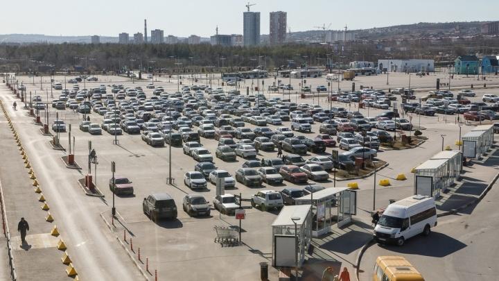В Волгограде снова перекроили один из вспомогательных маршрутов