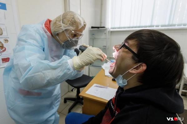 В правительстве Курганской области заявили, что в регионе достаточно тест-систем