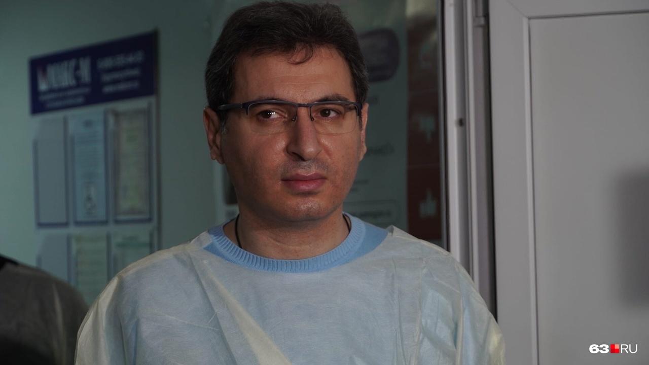 Министр здравоохранения области находится в горбольнице Сызрани