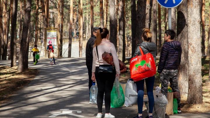 Тюменцы за деньги продают места в бесплатных беседках в Гилёвской роще