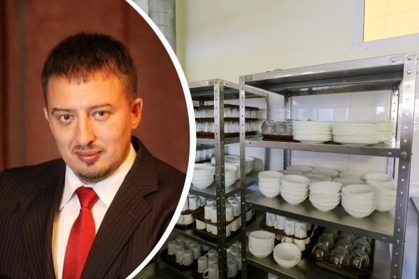Сергей Волков следит за темой школьного питания в Красноярске несколько лет
