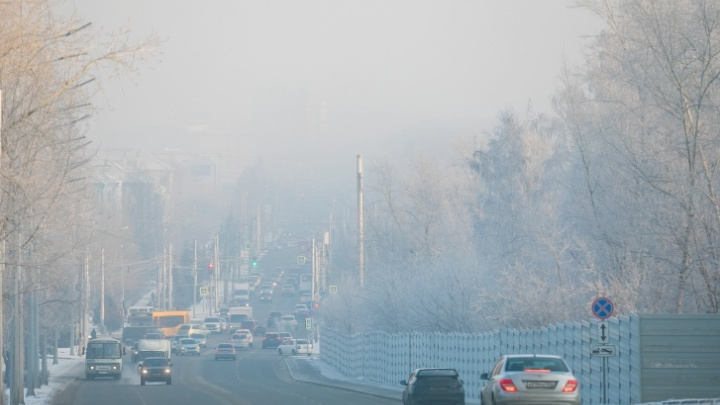 «Черное небо» придумали политтехнологи: Усс считает, что в Красноярске не самая плохая ситуация с экологией