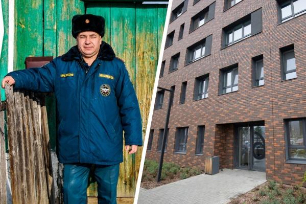 В очереди на получение жилья Виталий стоял с 2003 года, но переехать всё никак не получалось