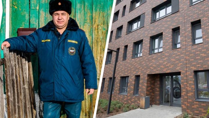 Алтушкин купил квартиру ветерану из Челябинской области, который 17 лет стоял в очереди на жилье