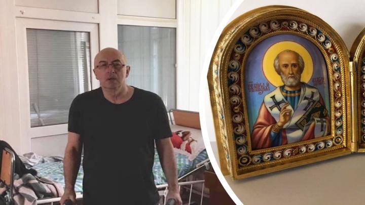 Ярославский коллекционер распродает иконы, чтобы собрать деньги на лечение