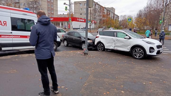«Нехороший» перекресток. В Архангельске в ДТП пострадали три ребенка