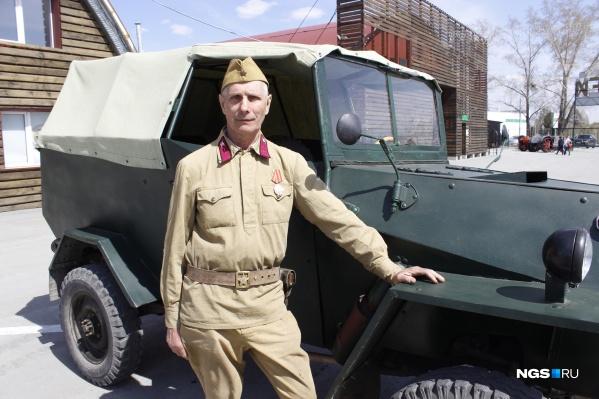 Анатолий Киселев воссоздал легендарный автомобиль вместе с единомышленниками