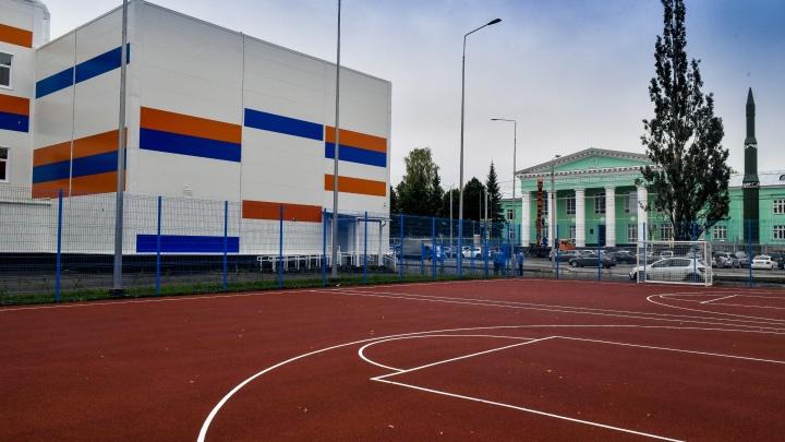 В Перми завершили строительство физкультурно-оздоровительного комплекса на улице Веденеева