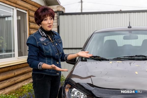 Наталья выигранные машины считает наградой за многолетний труд