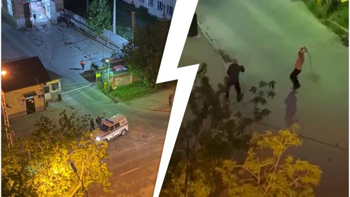 Прохожий, которого огрели трубой по голове на улице Щорса, сбежал с места происшествия