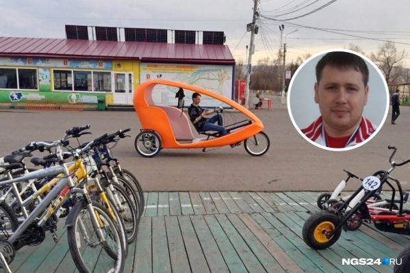 Максим Бархатов стал отвечать за развитие острова Татышев весной 2019 года