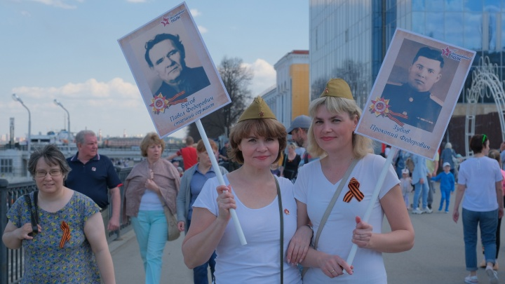 Легкий бриз и фотозоны: как в Перми прошли праздничные гулянья на набережной