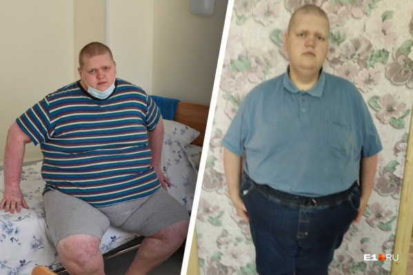 Александр похудел на 54 кг