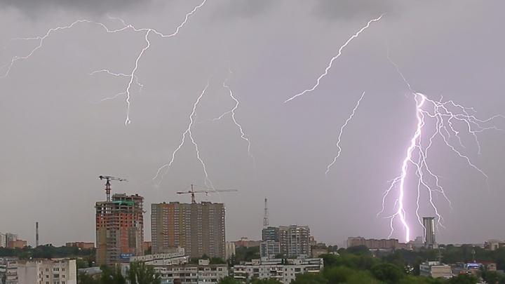 Жара с грозой: синоптики озвучили прогноз погоды на выходные в Самарской области