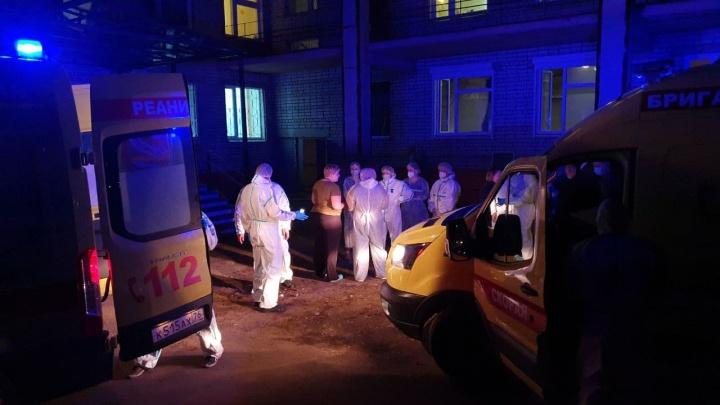 МЧС весной в последний раз посещало больницу в Ярославле, где произошел смертельный пожар