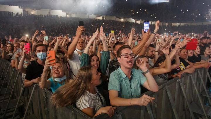 В Волгограде озвучили количество зрителей на концерте «Руки Вверх!». Цифры грандиозные