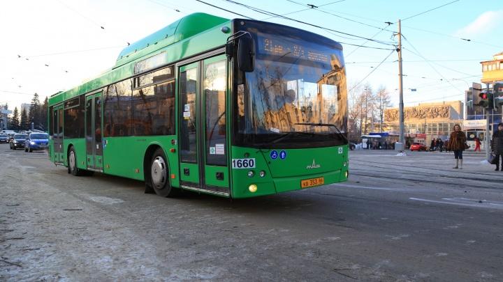 Екатеринбург покупает новые автобусы с валидаторами и камерами наблюдения