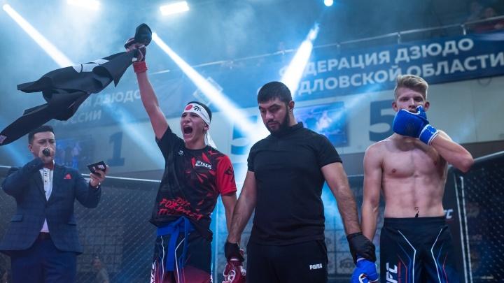 Уральский девелопер зажигает новых звезд ММА: в Екатеринбурге прошел турнир по смешанным единоборствам