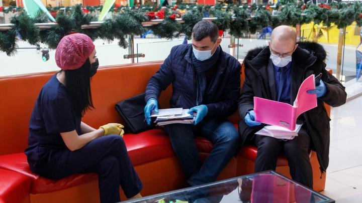 В Волгограде архитекторы и строители выйдут штрафовать за отсутствие масок и перчаток