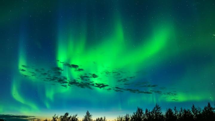 «Не пропускаю солнечные бури»: охотник на северное сияние показал впечатляющее видео из Нарьян-Мара