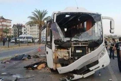 В Турции автобус с российскими туристами попал в ДТП. Погибли четыре человека