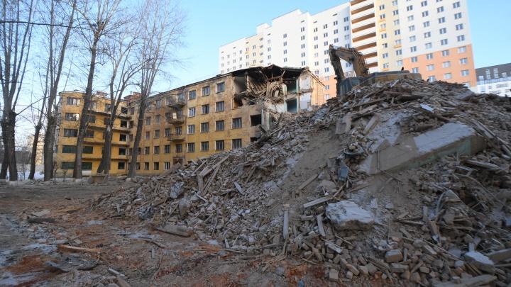 В Свердловской области с помощью реновации построят миллион квадратных метров жилья