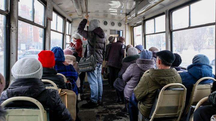 Челябинцы пожаловались на подорожание проезда втрамваях итроллейбусах