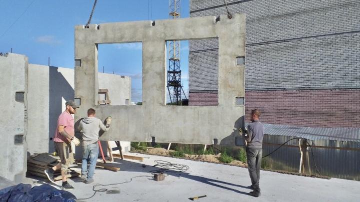 Квартиры ждут более 300 семей: в Архангельске начали строить два новых социальных дома
