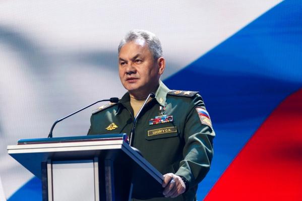 Сергей Шойгу посетит мотострелковую дивизию