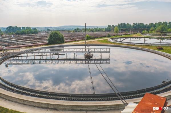 На выходе с очистных сооружений проблем с качеством воды нет