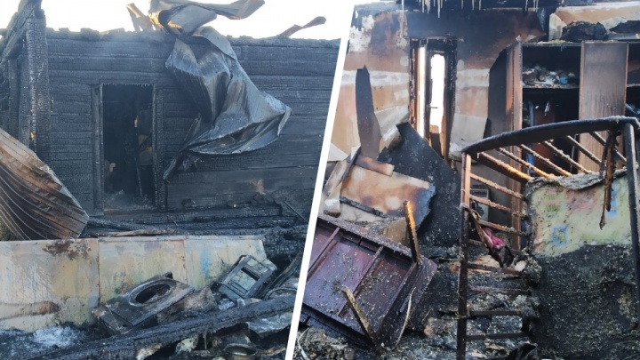 В Архангельске после пожара многодетная семья известных фотографа и журналистки осталась без дома