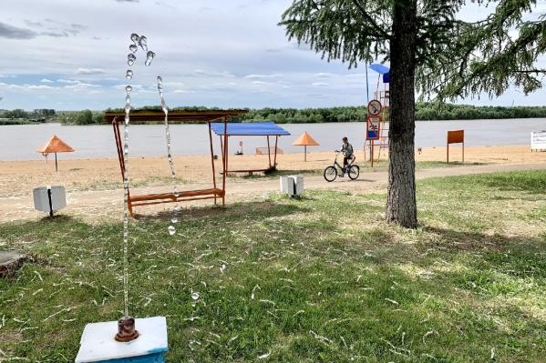 На «Советском» пляже всё готово к открытию